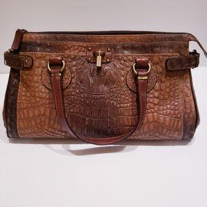 Gilda Tonelli Genuine Leather Tote Bag⭐RARE⭐